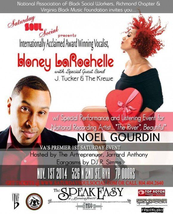 Saturday Soul Social – Nov. 1, 2014 feat. Noel Gourdin & Honey Larochelle