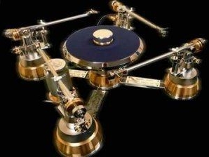 Gold Gabriel Turntable