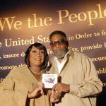 Kenny Gamble & Patti Labelle receive the National Museum of Patriotism's Patriot Award