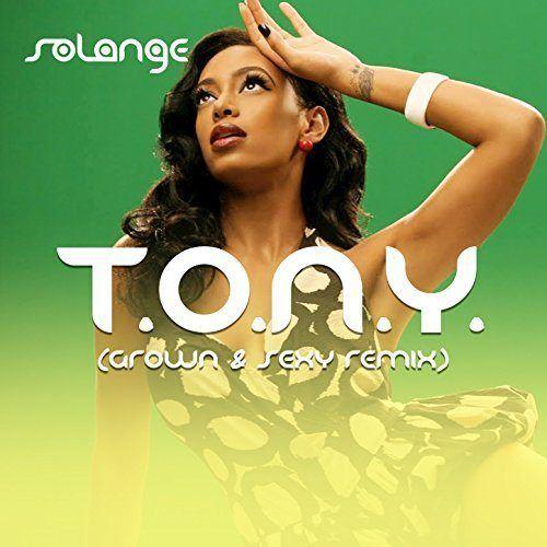 Solange T.O.N.Y. single cover