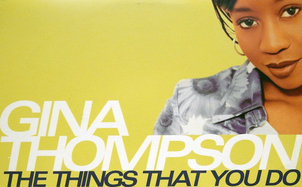Gina Thompson The Things That You Do Cover