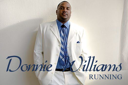 Donnie Williams Running