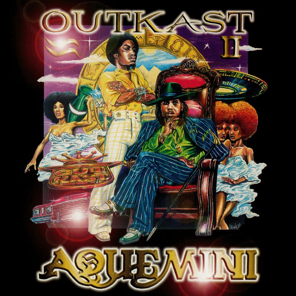 Outkast Aquemini Album Cover