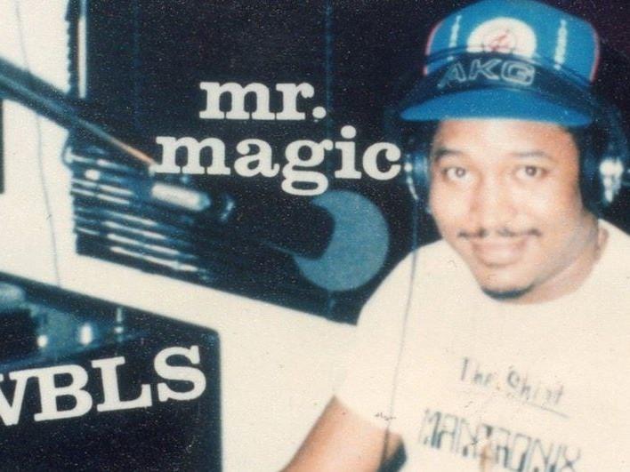 Mr. Magic WBLS Studio Photo (StarrliteGentry)