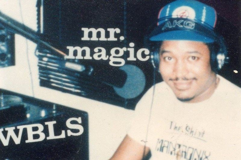 Mr. Magic WBLS Studio Photo (StarrliteGentry)