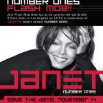Janet Jackson Number Ones Flash mob