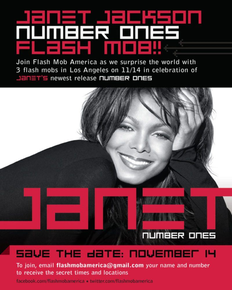 Janet Flash Mob Number Ones