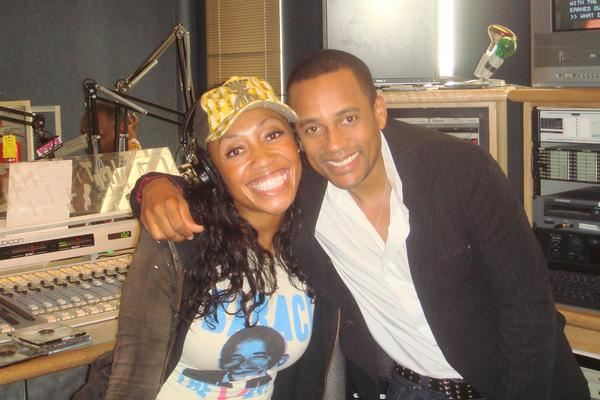 Nina Brown & Hill Harper