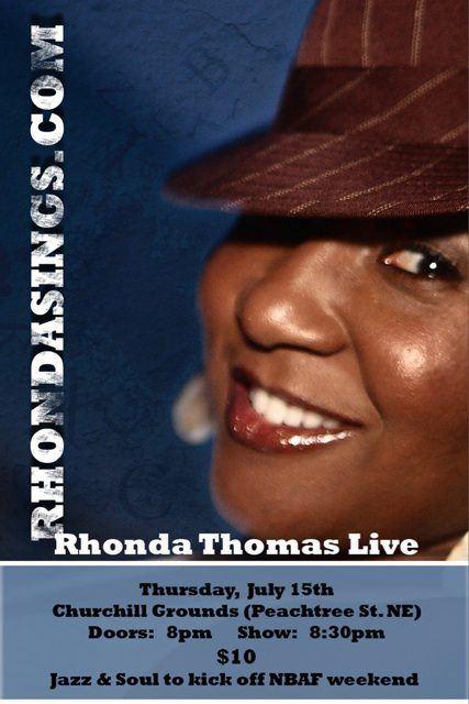 Rhonda Thomas Live At Churchill Grounds
