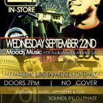 Join us at Moods Music for the Zo! In-Store & Concert!!!