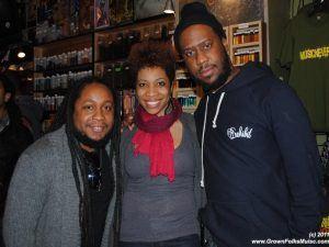 DJ Salah Ananse, Carmen Rodgers, Robert Glasper