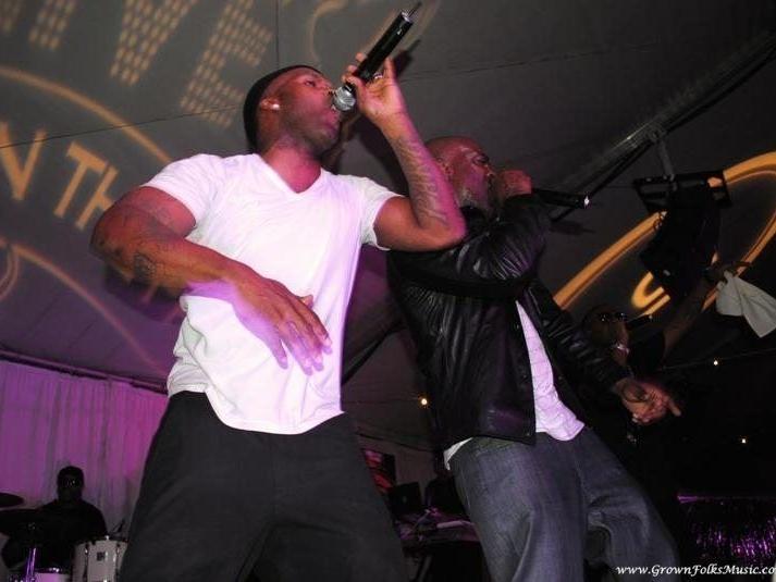 Jagged Edge performing in Atlanta