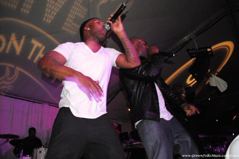Jagged Edge performing in Atlanta