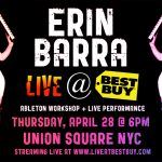 Watch Erin Barra Live At Best Buy