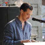 El DeBarge playing during sound check