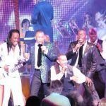 Earth Wind & Fire performing live in Atlanta