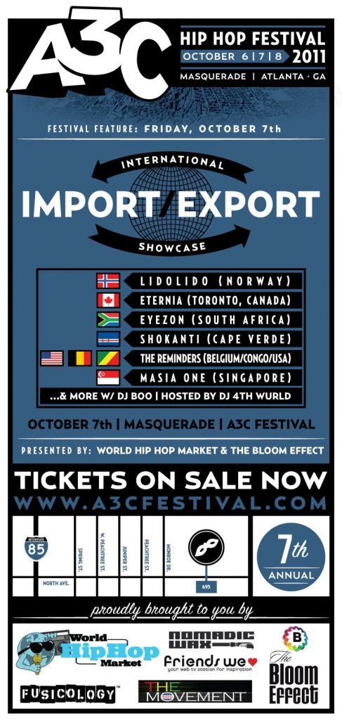 International Hip Hop debuts at A3C