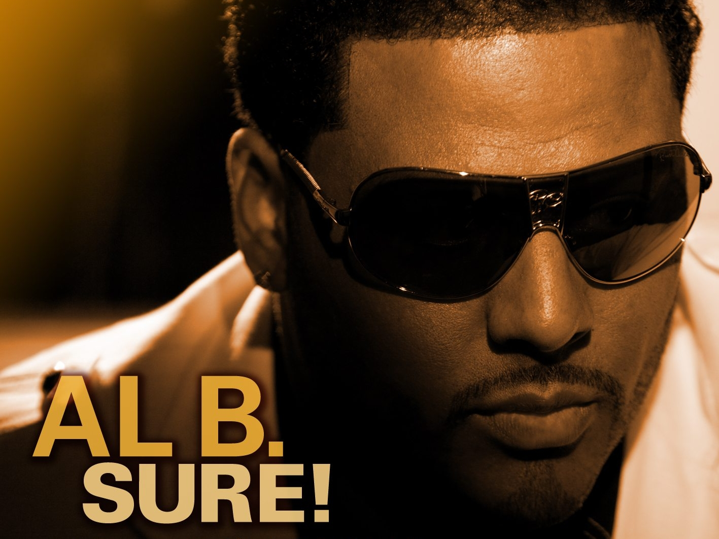 Al B. Sure! Honey I'm Home Album Cover
