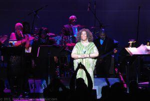 Aretha Franklin performing live in Atlanta