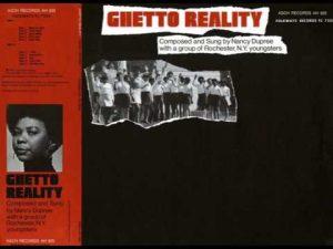 Nancy Dupree Ghetto Reality Album Cover
