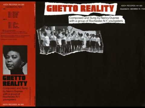 Nancy Dupree Ghetto Reality Album Cover