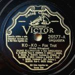 "Song of the Day: Duke Ellington: ""Ko Ko"""