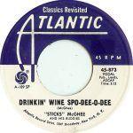 """Song of the Day: Stick McGhee """"Drinkin' Wine Spo-Dee-O-Dee"""""""