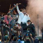 The Jacksons performing in Atlanta