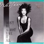 "Song of the Day- Whitney Houston ""Didn't We Almost Have It All"""