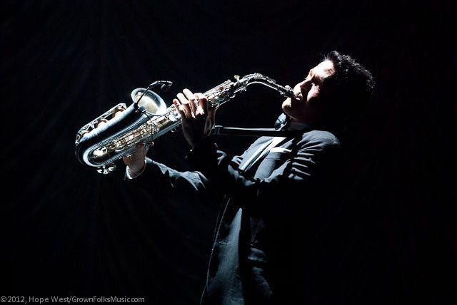 Dave Koz performing at Cobb Energy Center in Atlanta at the Dave Koz & Friends Christmas Tour.