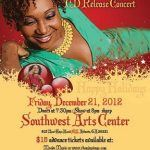 "Concert Event: Rhonda Thomas ""Little Drummer Girl"" CD Release Concert – Dec. 21st @ Southwest Art Center!!"