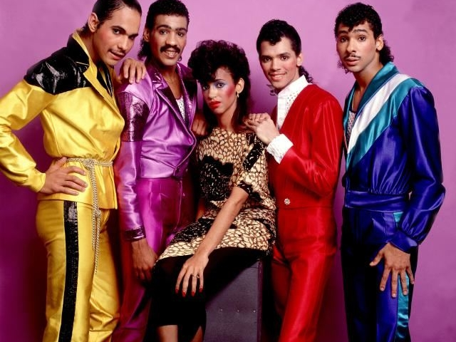 Group Portrait Of DeBarge