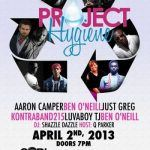 Event: Project Hygiene Fundraiser Concert for Teens at SOBs NYC April 2