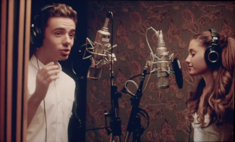 """Open the Box. See What's Inside. Ariana Grande & Nathan Sykes: """"Almost Is Never Enough"""""""
