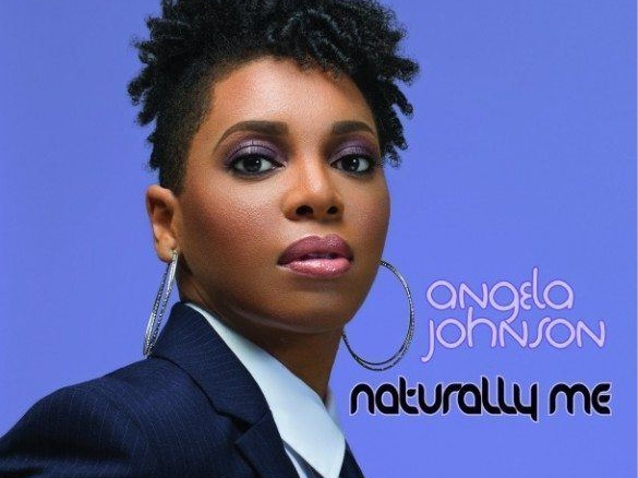 Angela Johnson Naturally Me Cover