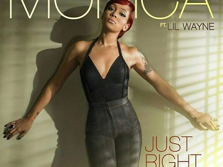 Monica Just Right For Me Single Cover