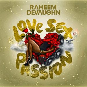 Raheem DeVaughn Love Sex Passion LP Cover