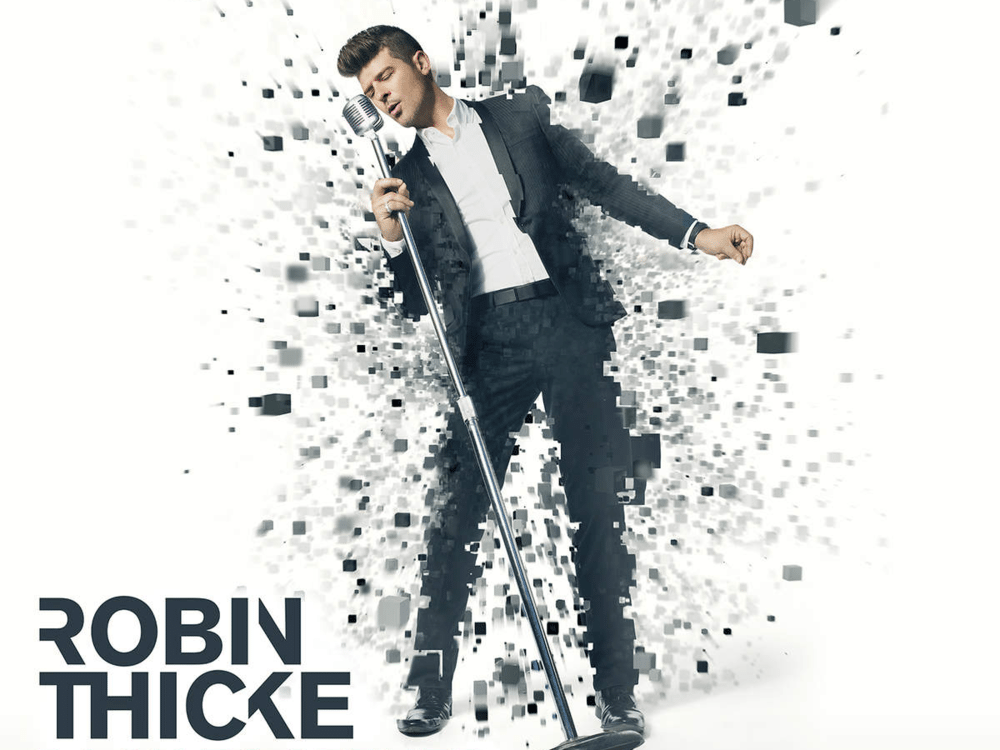 Back Together Robin Thicke Single Cover