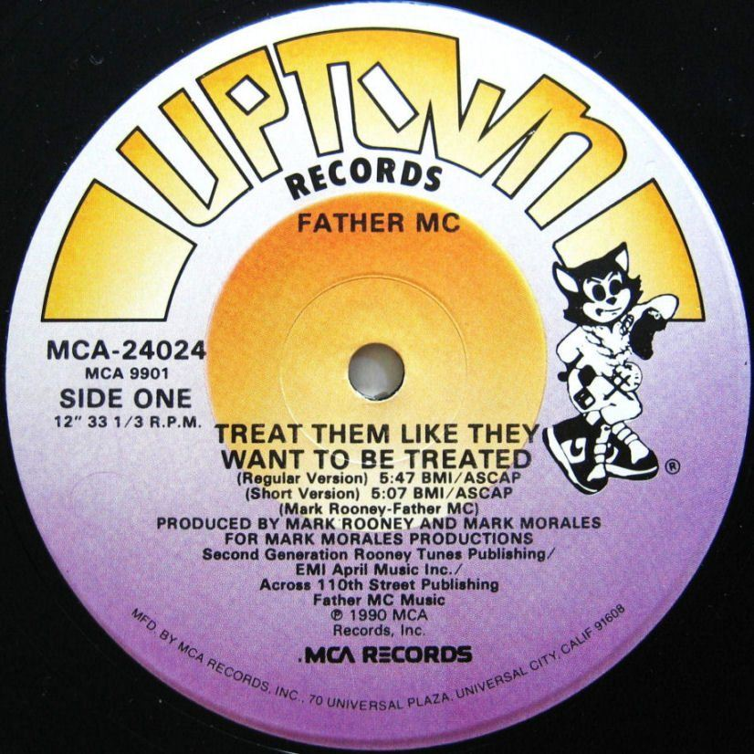 Father MC Record Uptown Label