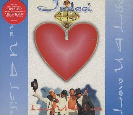 Jodeci Love U 4 Life Single Cover