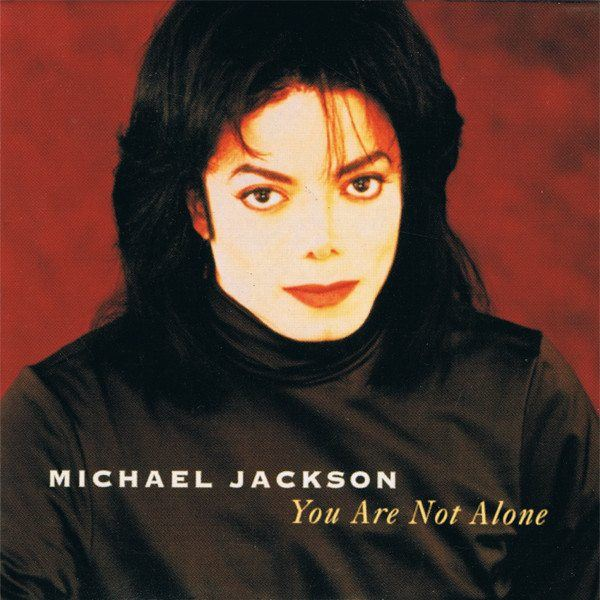 Michael Jackson You Are Not Alone Single Cover