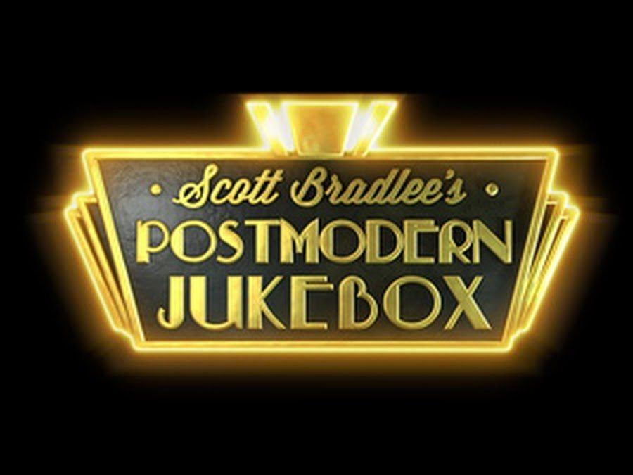 Postmodern Jukebox Black Logo