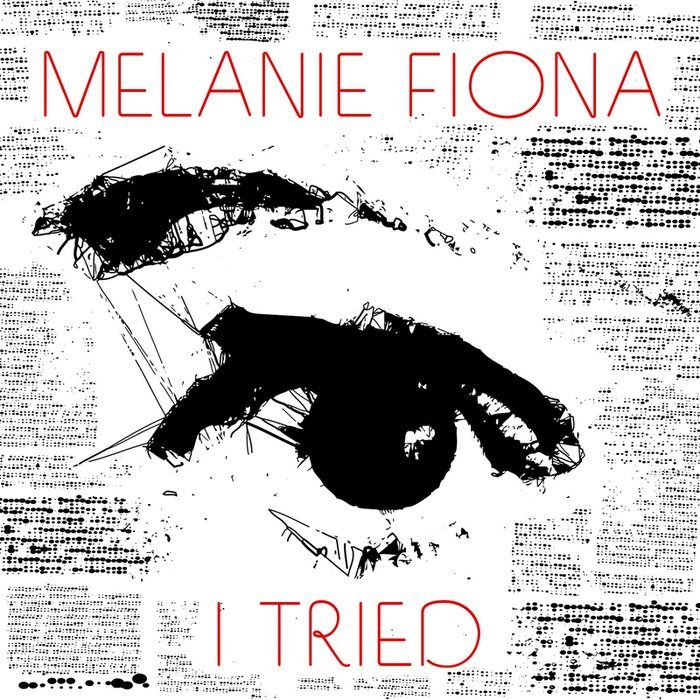 Melanie Fiona I Tried Single Cover