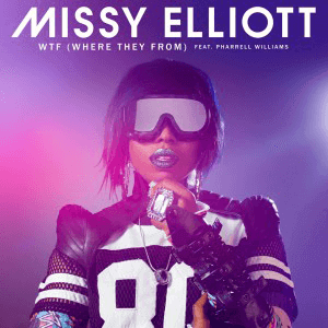 Missy Elliott WTF Single Cover