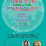 Turn It Up! A Workshop with Talent Buyer - Mehmet Dede and Publicist/Marketer - Fiona Bloom Sat. March 26 Drom NYC