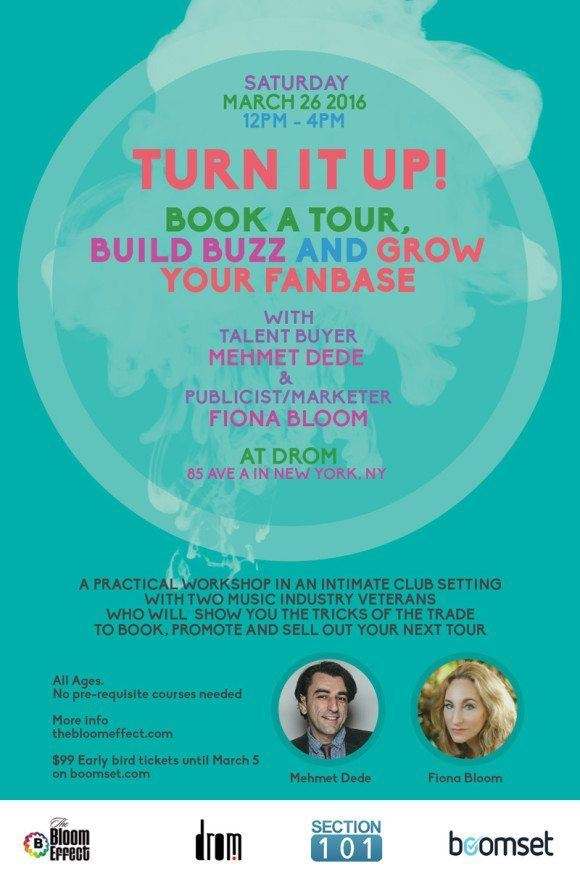 Turn It Up Workshop Mehmet Dede Fiona Bloom