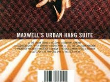 Maxwell Urban Hang Suite Album Cover
