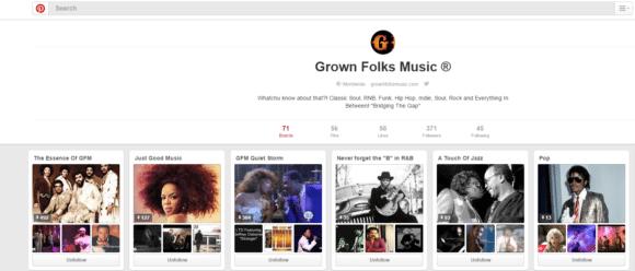 GFM Pinterest Page