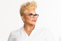 Tamela Mann Wearing Glasses