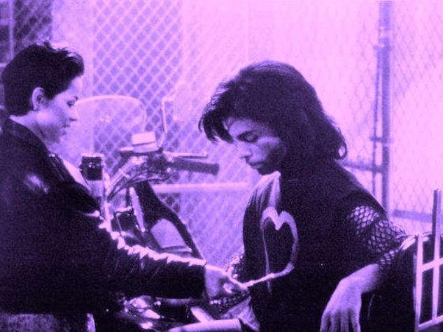 Ingrid Chavez and Prince